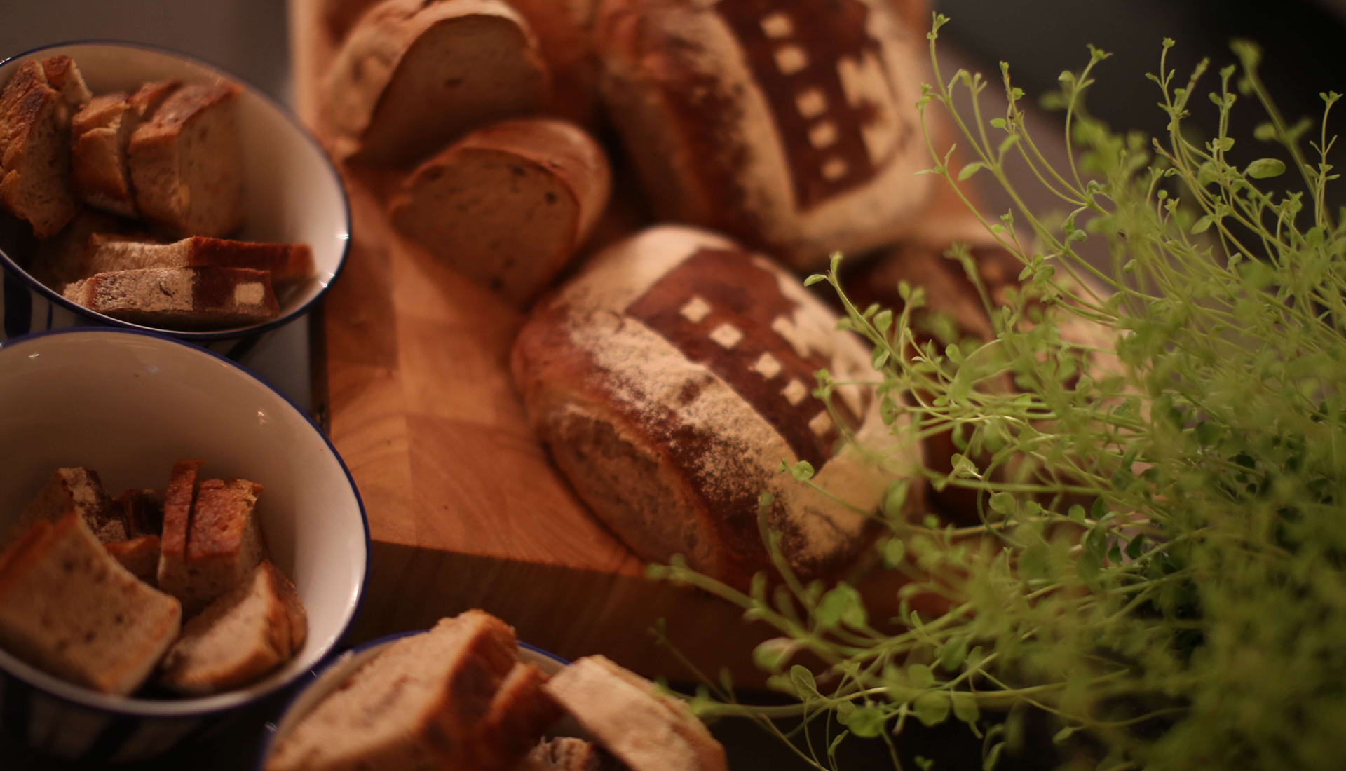 Essen und Trinken im Restaurant Waldschlösschen
