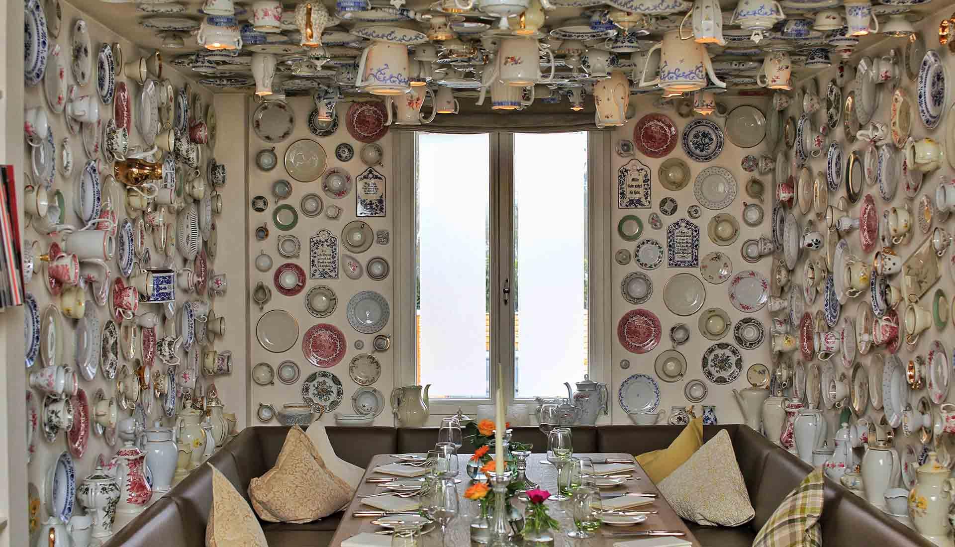Porzellanzimmer im Restaurant Waldschlösschen