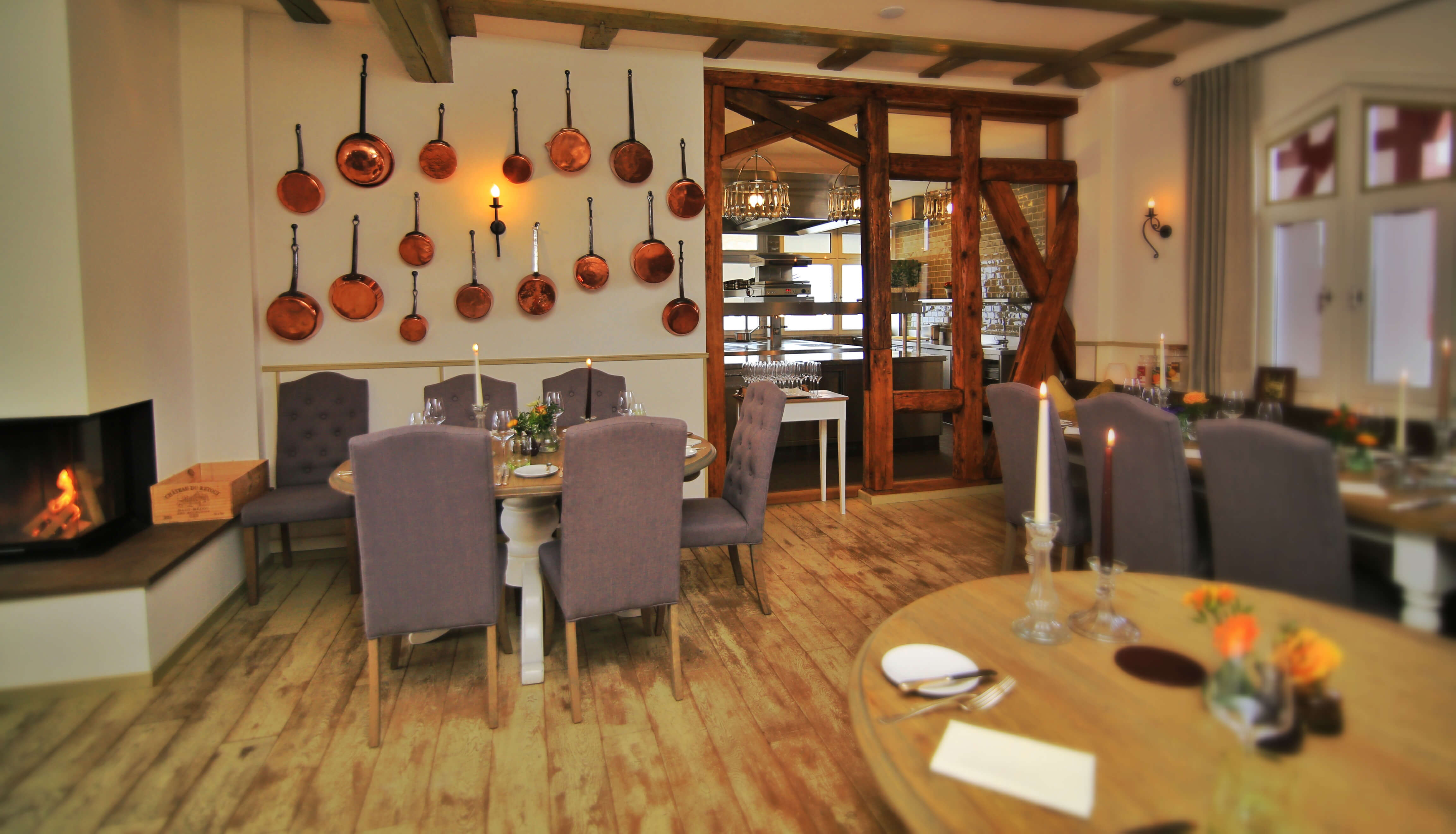 Innenraum Restaurant Waldschlösschen