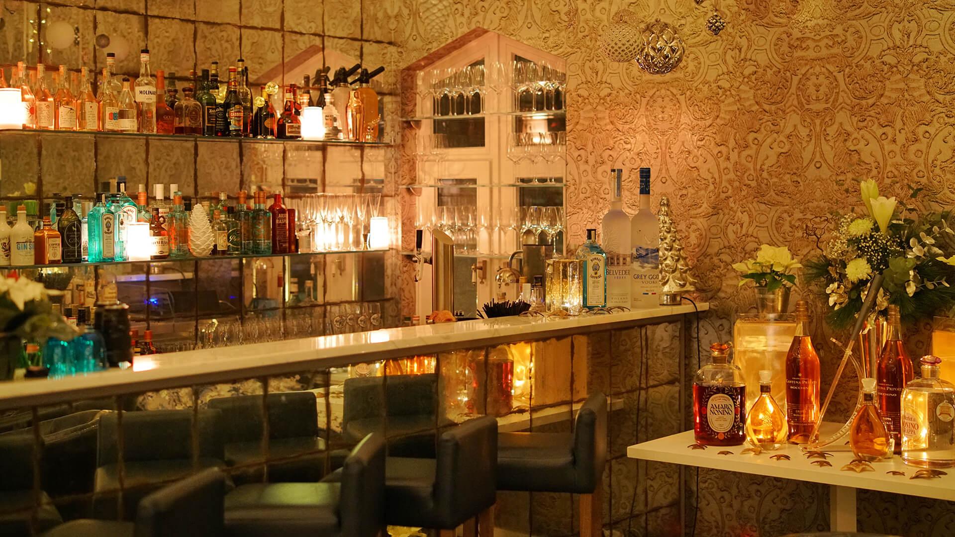 Die Bar im Kitchen Club