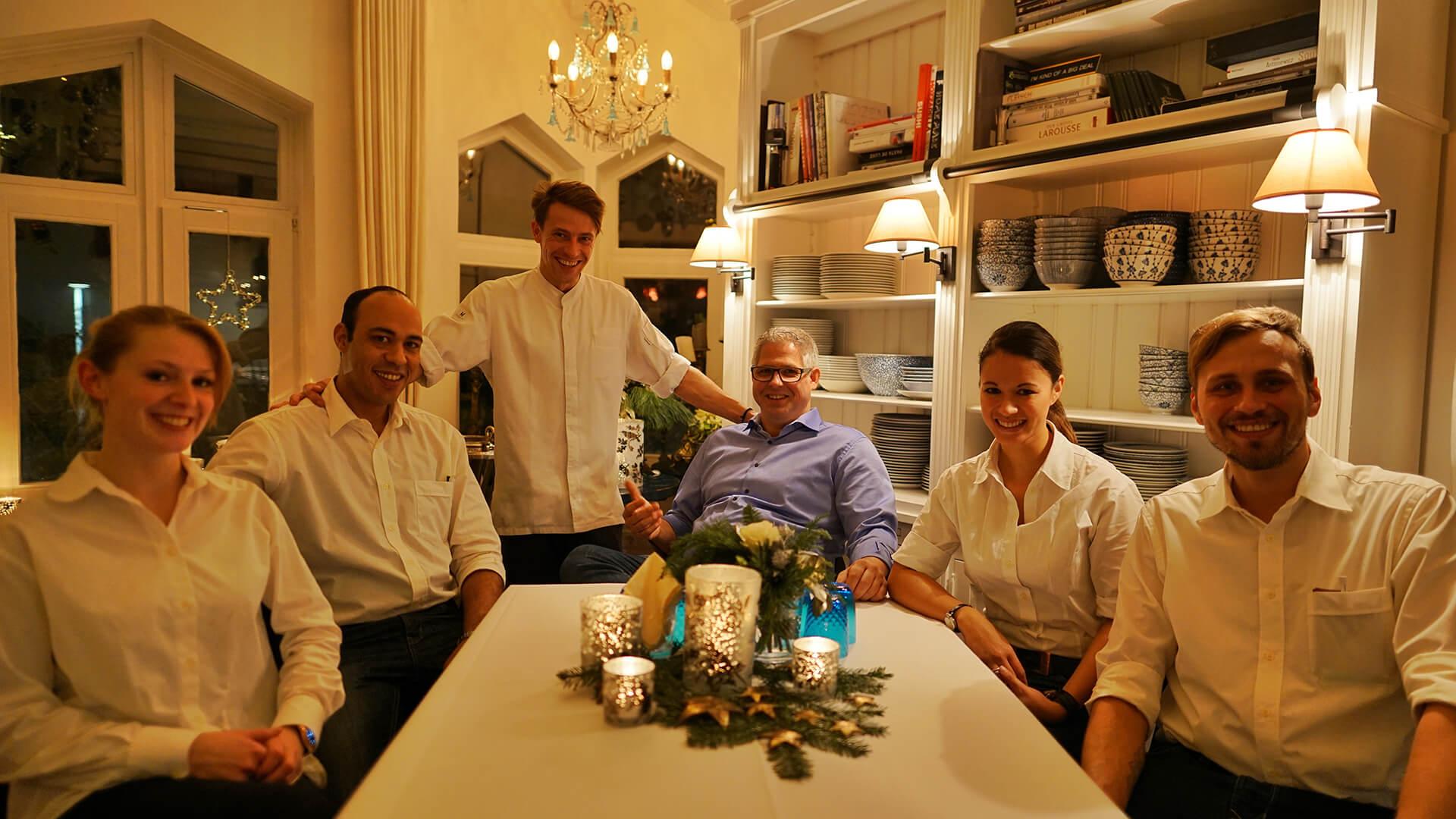 Das Team aus dem Restaurant Waldschlösschen