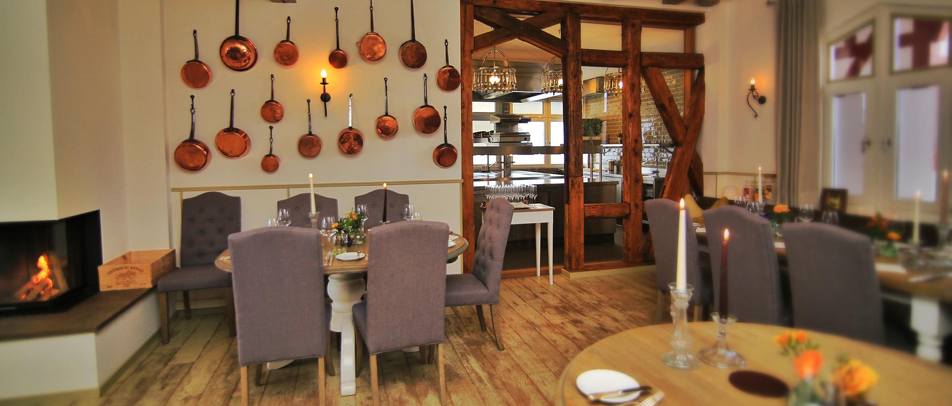 Gastraum im Restaurant Waldschlösschen in Dagobertshausen