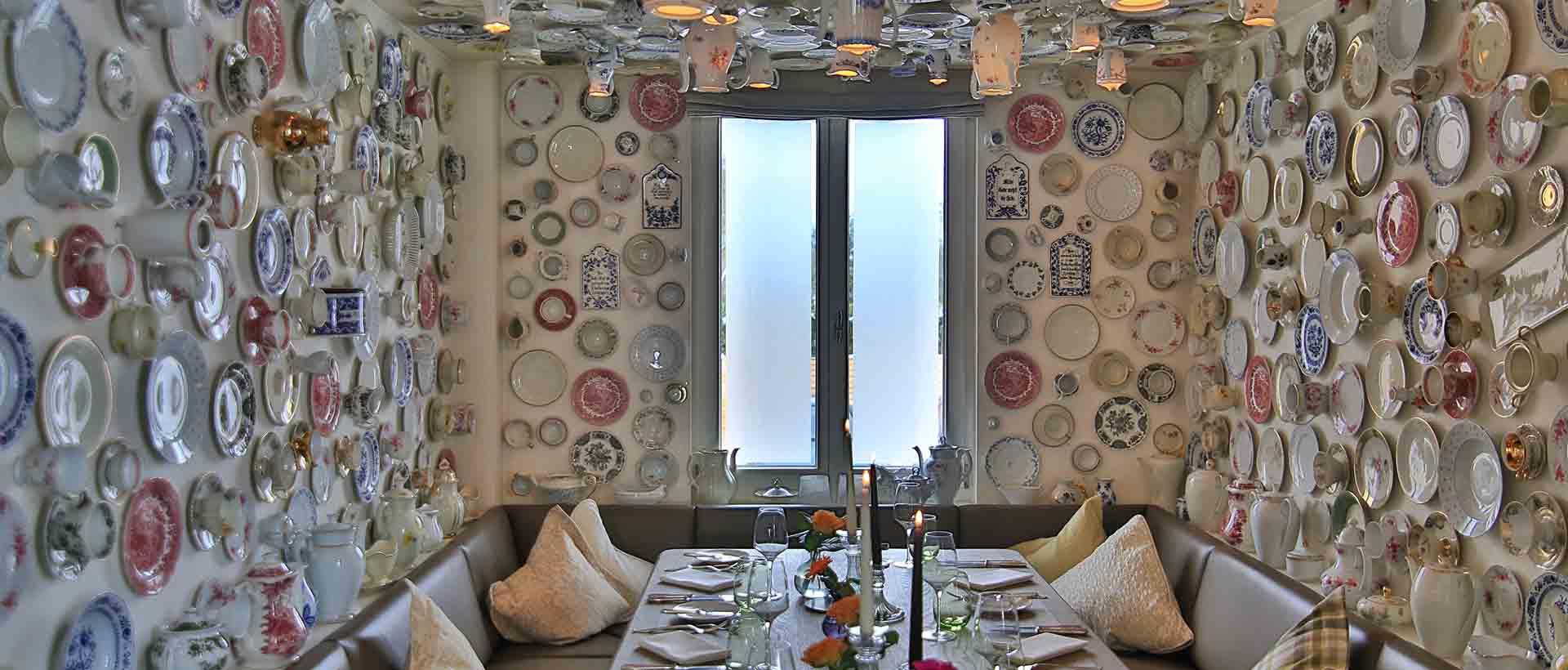 Das Porzellanzimmer im Restaurant Waldschlösschen
