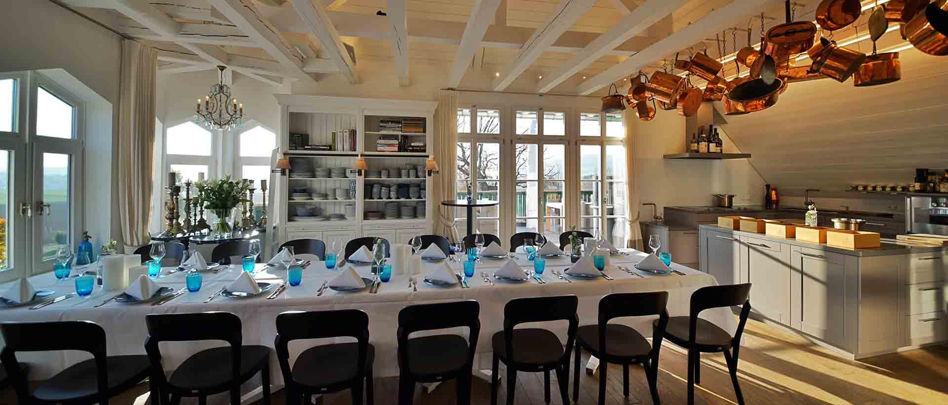 Die Eventlocation Kitchen Club im Restaurant Waldschlösschen